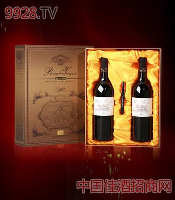 珍藏干红礼盒葡萄酒