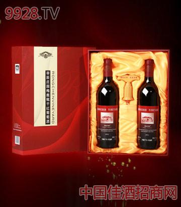 梅鹿辄干红礼盒葡萄酒
