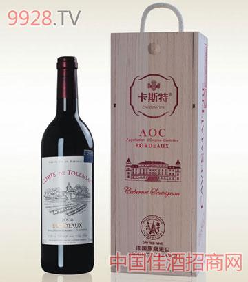 卡斯特图朗克AOC单支-葡萄酒