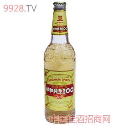 祥和纯生啤酒