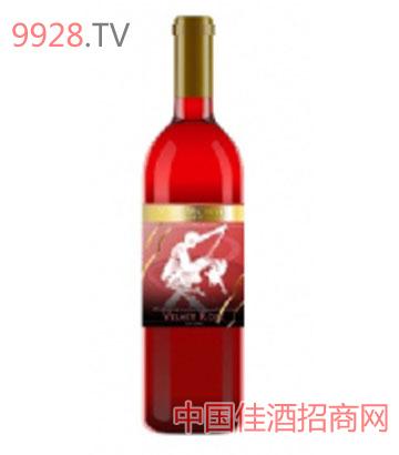甜蜜之舞玫瑰红甜葡萄酒