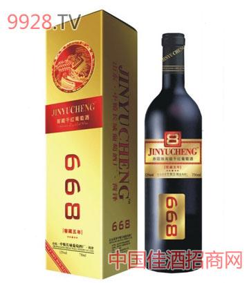 中粮长城668(方盒)葡萄酒