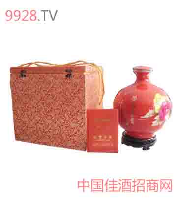 十斤瓷坛[外]酒