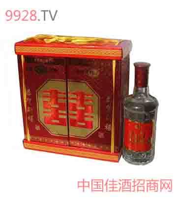 腾格尔双盒礼品酒