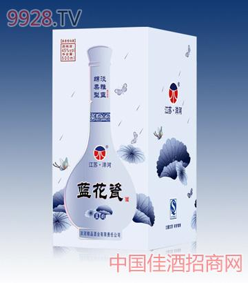 蓝花瓷(淡雅蓝)酒