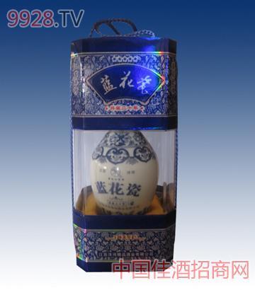 蓝花瓷典藏20年酒