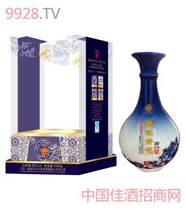 青花龙瓷30典藏酒