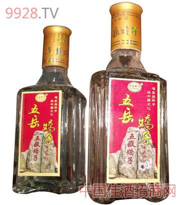五岳娇子半斤老窖酒