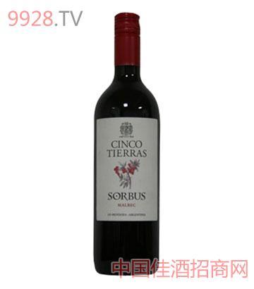 圣缇拉莎巴斯马贝克红葡萄酒