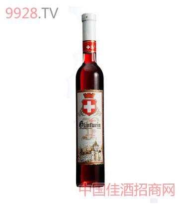 阿尔卑斯山温暖甜红葡萄酒