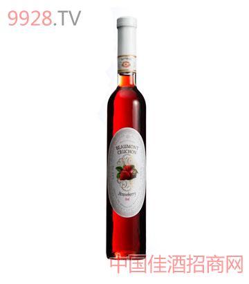 波蒙特投手草莓甜红葡萄酒