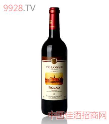 卡罗斯美乐红葡萄酒
