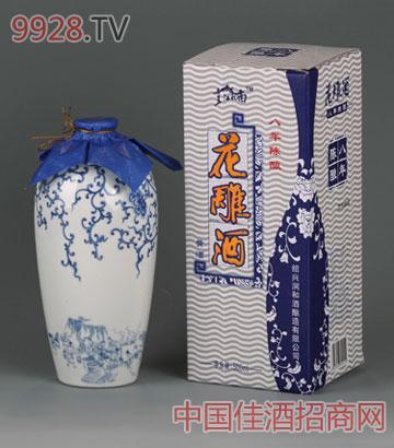 八年瓷瓶礼盒酒