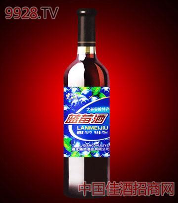 大兴安岭特产蓝莓酒A51