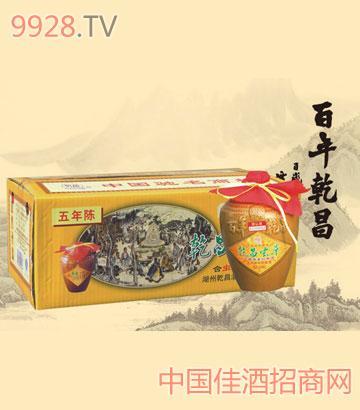 500ml五年陈乾昌虫草酒