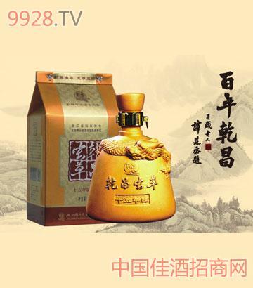 500ml十五年陈乾昌虫草礼盒酒