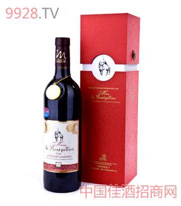 法國子爵蒙城瑪麗干紅葡萄酒