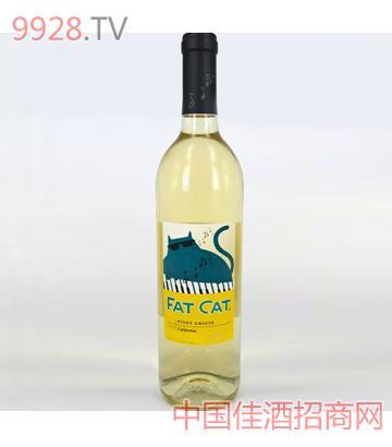 肥猫 灰比诺白葡萄酒