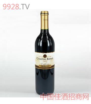 金海岸 梅乐红葡萄酒