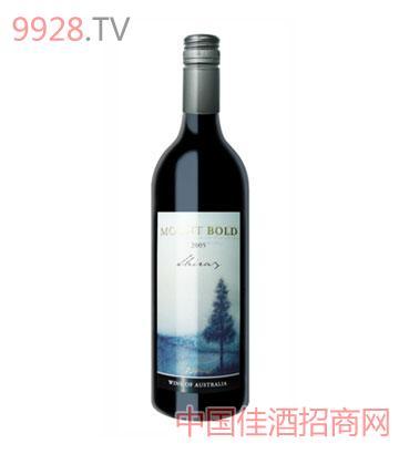 伯德山设拉子2005葡萄酒