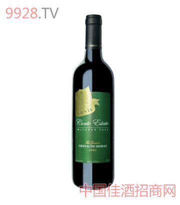 康特庄园-戛纳歌海珊设拉子-2006葡萄酒