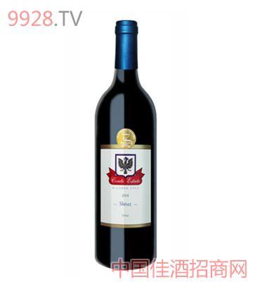 康特庄园设拉子2004葡萄酒