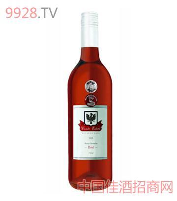 康特庄园设拉子歌海珊玫瑰2005葡萄酒