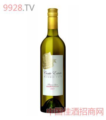 康特庄园樱草花巷霞多丽2007葡萄酒