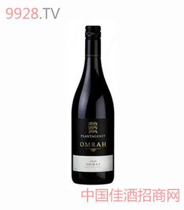 狮子王(金雀花王朝)奥玛2009设拉子葡萄酒