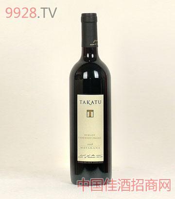 TAKATU梅洛干红葡萄酒