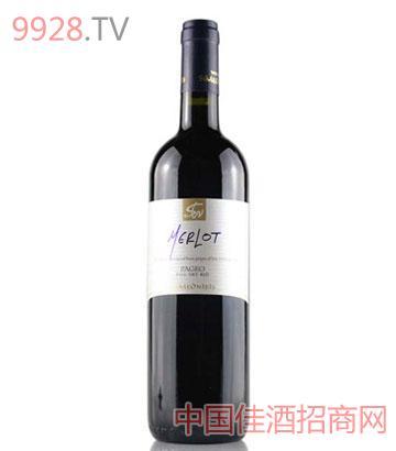 西米欧尼蒂斯酒庄帕吉奥梅洛红葡萄酒