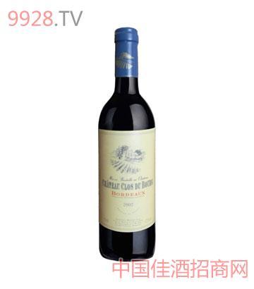 哥杜堡庄园干红葡萄酒