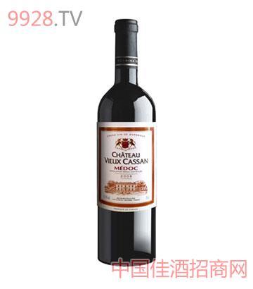卡桑古堡干红葡萄酒