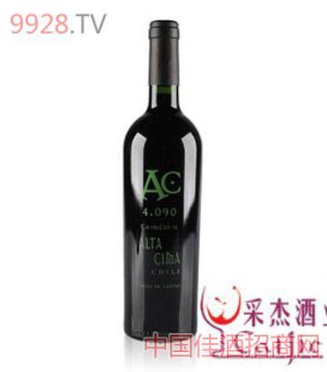 頂峰4090佳美娜珍藏干紅葡萄酒