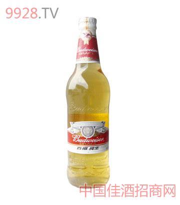 百威纯生啤酒