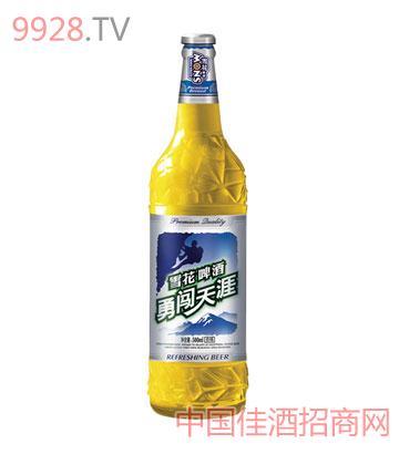 雪花勇闯啤酒