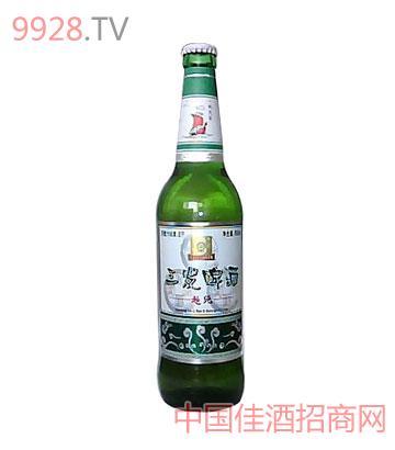 600ml三�l啤酒