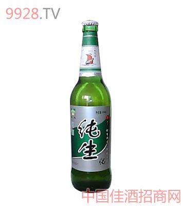 600ml群生啤酒