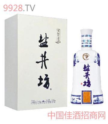 盐井坊酒52度