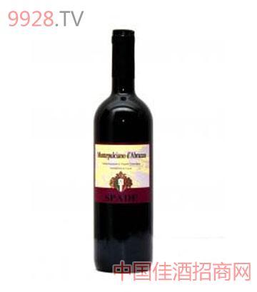 仕帮德蒙特普奇诺阿布努佐红葡萄酒
