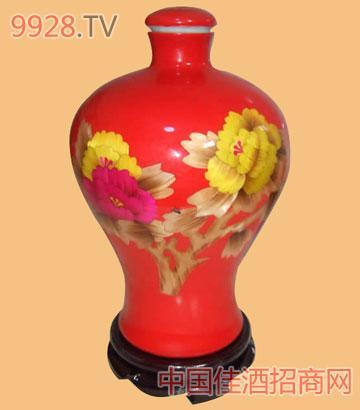 古殷坊系列红瓷酒
