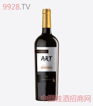 阿雷斯帝艺术系列珍藏级赤霞珠干红葡萄酒