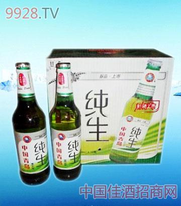 500ml纯生箱装啤酒