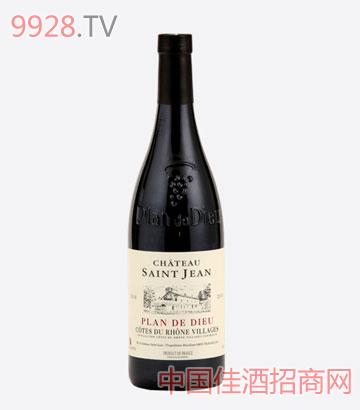 圣吉恩酒庄-罗纳河谷村庄干红葡萄酒