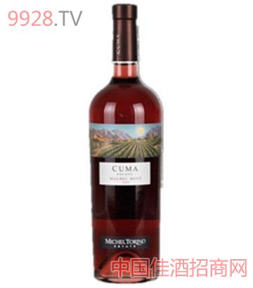 库马有机马尔贝克桃红葡萄酒