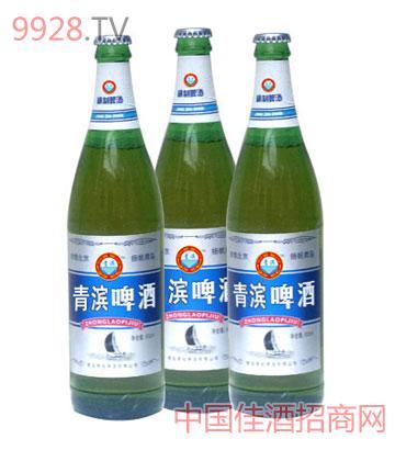 青滨啤酒(塑包)620ml