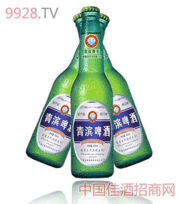 青滨啤酒600ml
