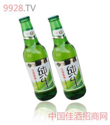 纯生啤酒500ml瓶装