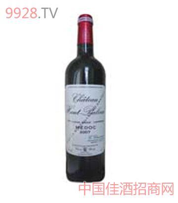 百利莱堡干红葡萄酒