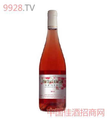 勒图斯庄园玫瑰红葡萄酒2010